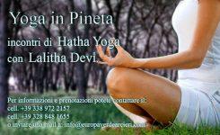 Hatha Yoga In Pineta (30 luglio 2017)