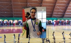 Francesco Bianchini campione regionale Juniores Arco Compound